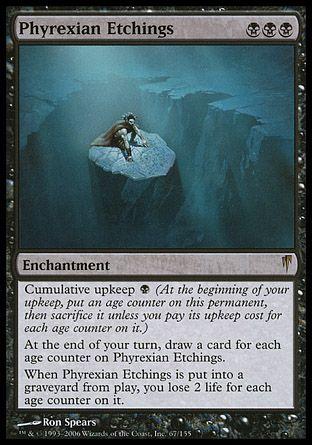 Phyrexian Etchings, Coldsnap