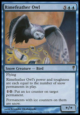 Rimefeather Owl, Coldsnap