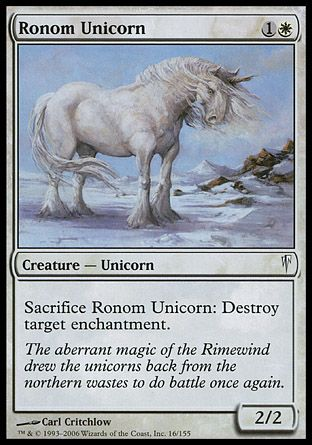 Ronom Unicorn, Coldsnap