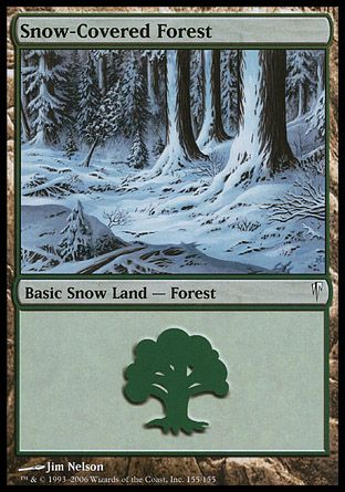 Snow-Covered Forest, Coldsnap