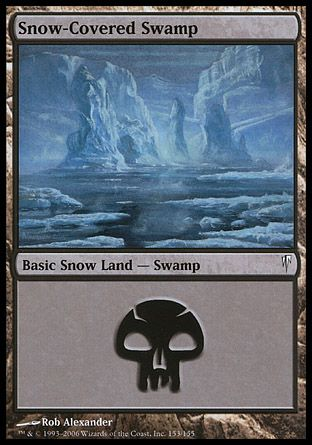 Snow-Covered Swamp, Coldsnap