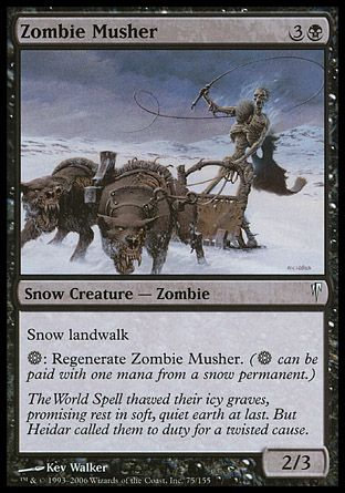 Zombie Musher, Coldsnap
