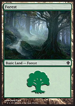 Forest, Commander 2013