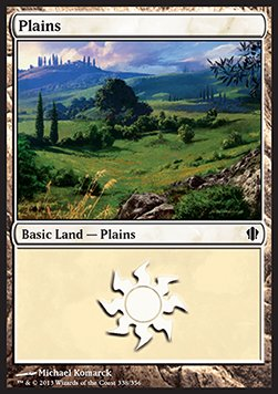 Plains, Commander 2013