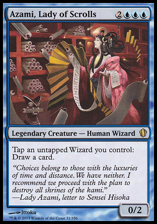 Azami, Lady of Scrolls, Commander 2013