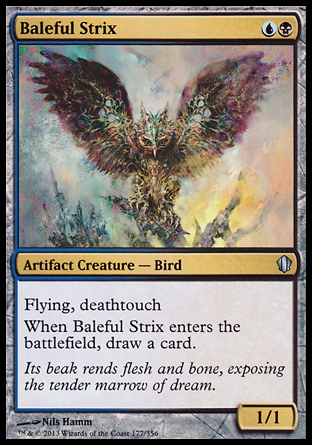 Baleful Strix, Commander 2013