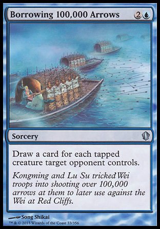 Borrowing 100,000 Arrows, Commander 2013
