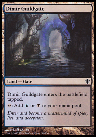 Dimir Guildgate, Commander 2013