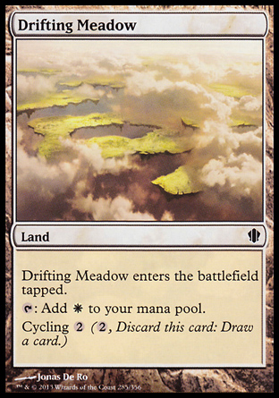 Drifting Meadow, Commander 2013