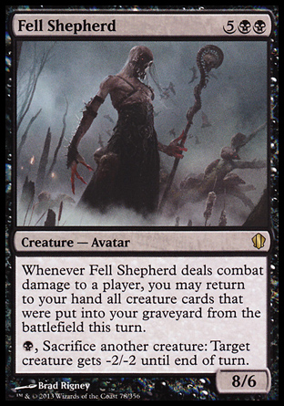 Fell Shepherd, Commander 2013