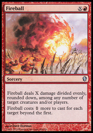 Fireball, Commander 2013