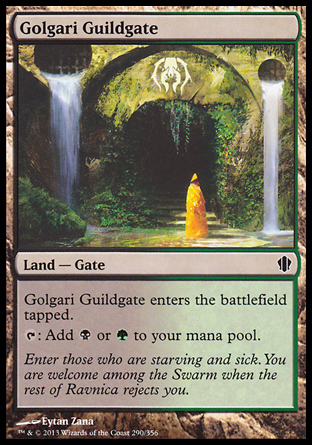 Golgari Guildgate, Commander 2013