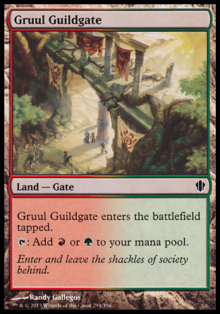 Gruul Guildgate, Commander 2013