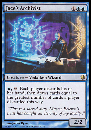 Jace's Archivist, Commander 2013