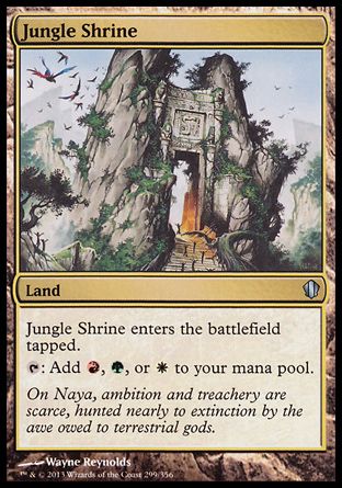 Jungle Shrine, Commander 2013