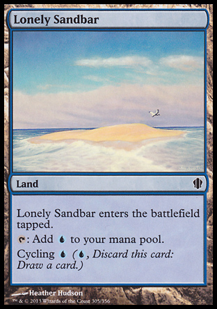 Lonely Sandbar, Commander 2013