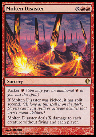 Molten Disaster, Commander 2013