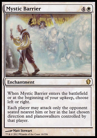 Mystic Barrier, Commander 2013