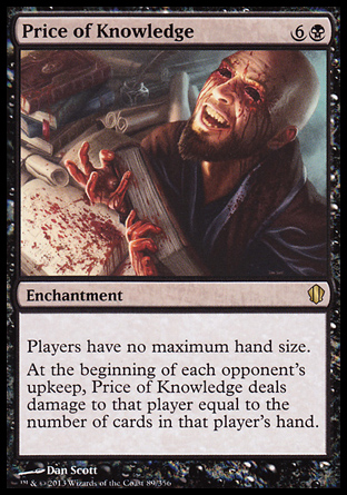Price of Knowledge, Commander 2013
