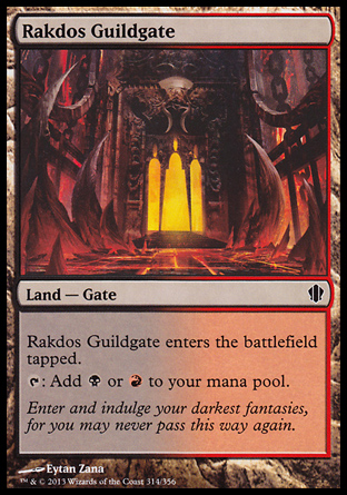Rakdos Guildgate, Commander 2013