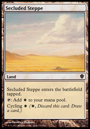 Secluded Steppe, Commander 2013