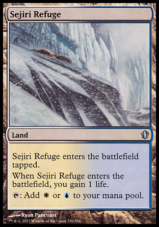 Sejiri Refuge, Commander 2013