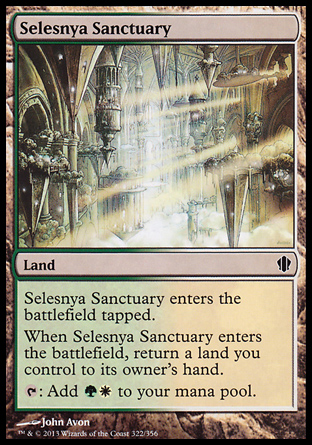 Selesnya Sanctuary, Commander 2013