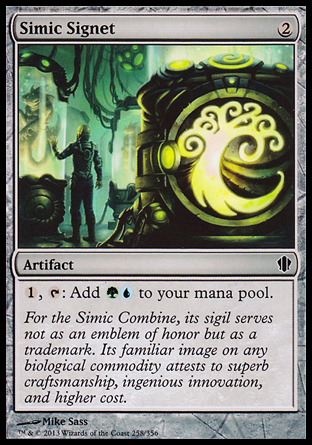 Simic Signet, Commander 2013