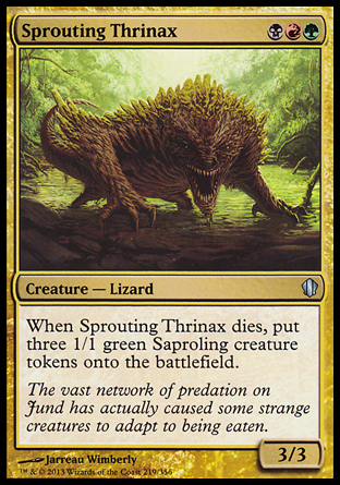 Sprouting Thrinax, Commander 2013