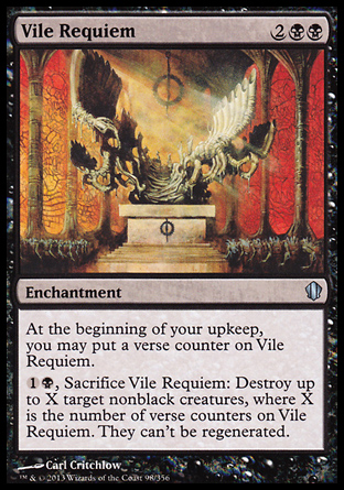 Vile Requiem, Commander 2013
