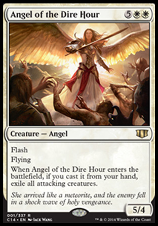 Angel of the Dire Hour, Commander 2014