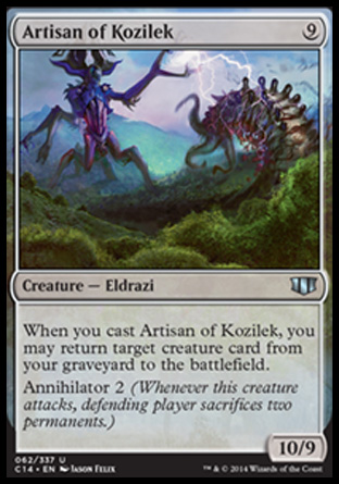 Artisan of Kozilek, Commander 2014