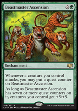 Beastmaster Ascension, Commander 2014