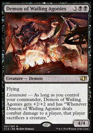 Demon of Wailing Agonies, Commander 2014