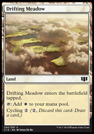 Drifting Meadow, Commander 2014