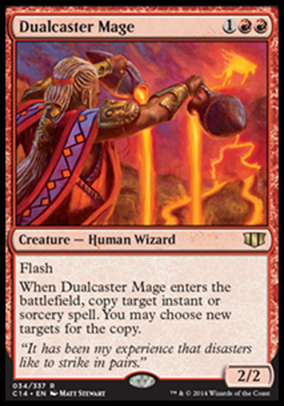Dualcaster Mage, Commander 2014
