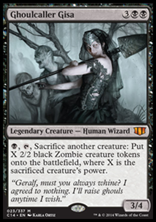 Ghoulcaller Gisa, Commander 2014