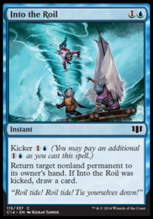 Into the Roil, Commander 2014