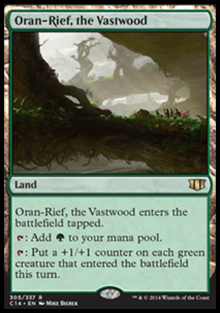 Oran-Rief, the Vastwood, Commander 2014