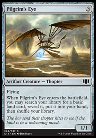 Pilgrim's Eye, Commander 2014