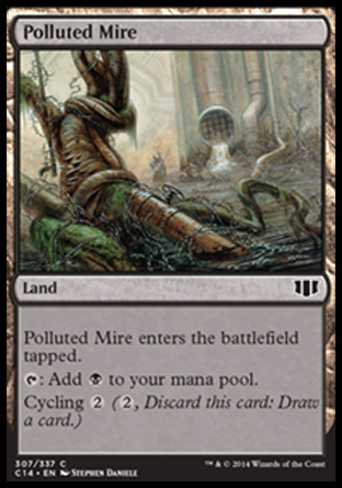 Polluted Mire, Commander 2014