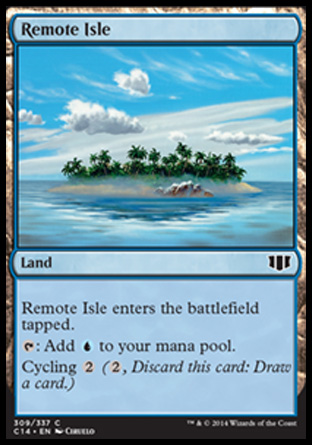 Remote Isle, Commander 2014