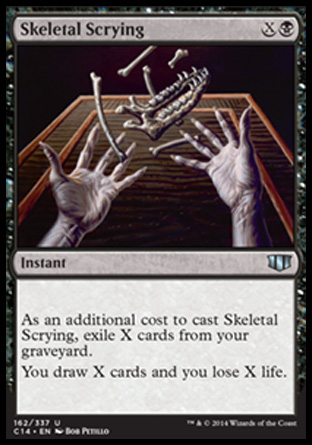 Skeletal Scrying, Commander 2014