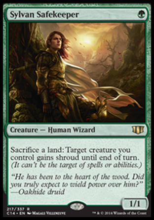 Sylvan Safekeeper, Commander 2014