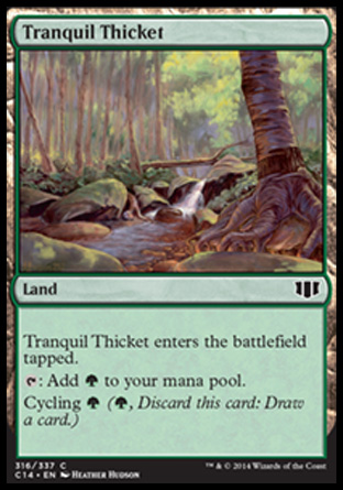Tranquil Thicket, Commander 2014