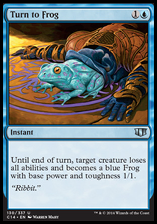 Turn to Frog, Commander 2014