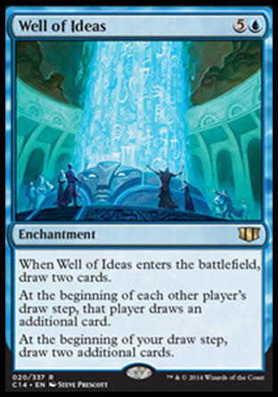 Well of Ideas, Commander 2014