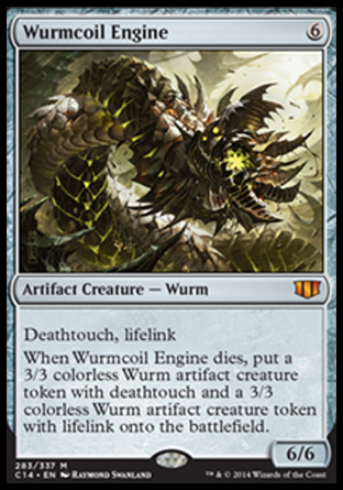 Wurmcoil Engine, Commander 2014