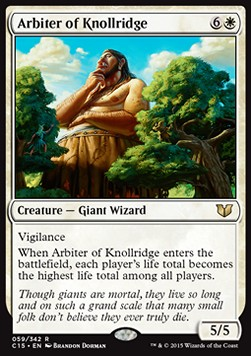 Arbiter of Knollridge, Commander 2015