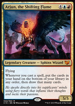 Arjun, the Shifting Flame, Commander 2015
